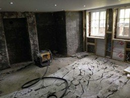 Basement Conversion Before